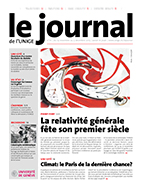 Le Journal de l'UNIGE No111 19 novembre 2015